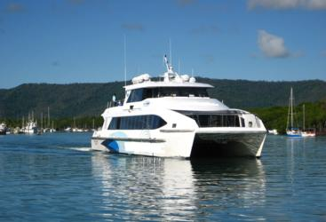 Leaving Port Douglas Marina