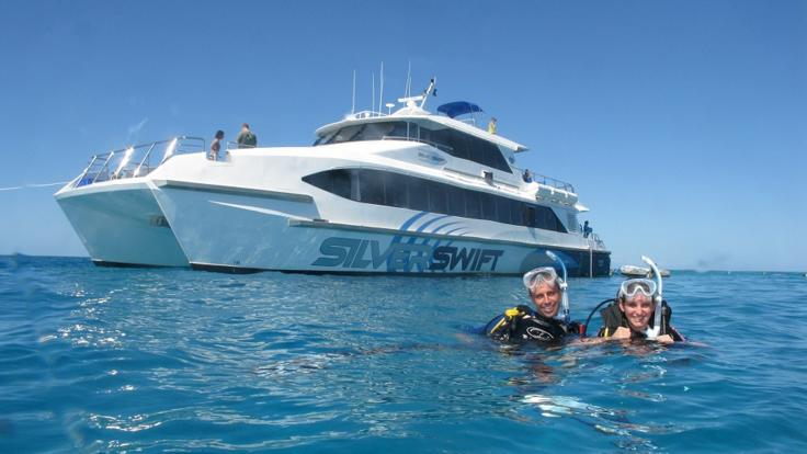 Cairns dive and snorkel tour, visit  3 reef sites