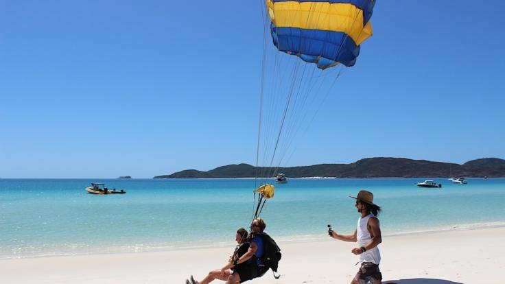 Whitehaven Beach 14,000ft Tandem Skydive Jump | Beach Landing | Great Barrier Reef
