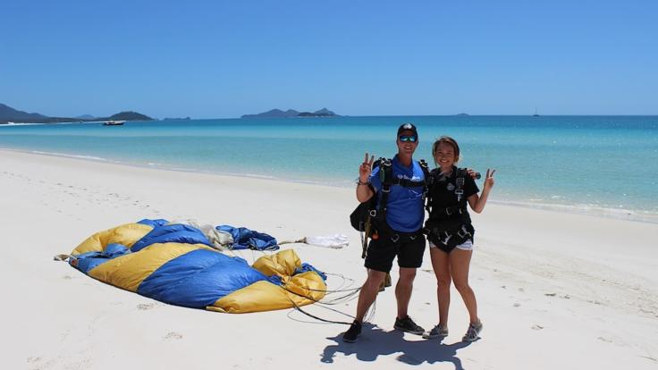 Whitehaven Beach 14,000ft Tandem Jump | A Must Do On Your Bucket List