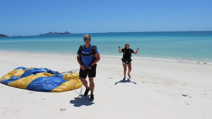 Whitehaven Beach 14,000ft Tandem Skydive Jump - Great Barrier Reef