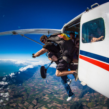 Prepare for the thrill of flying over Cairns and then skydiving down to earth!