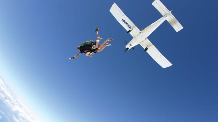 Skydive from up to 15,000ft!