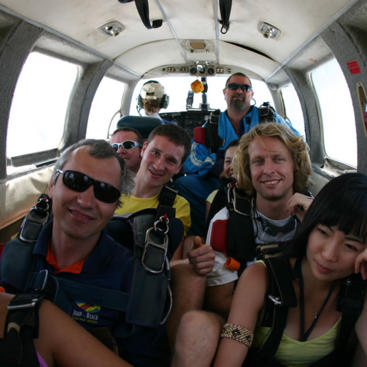 Take off on your skydive adventure