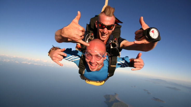 High times - Cairns Skydive