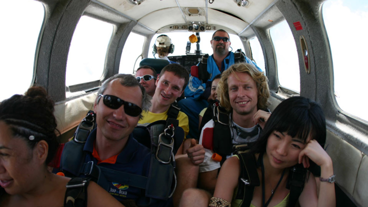 Ready for take off - Skydive Cairns