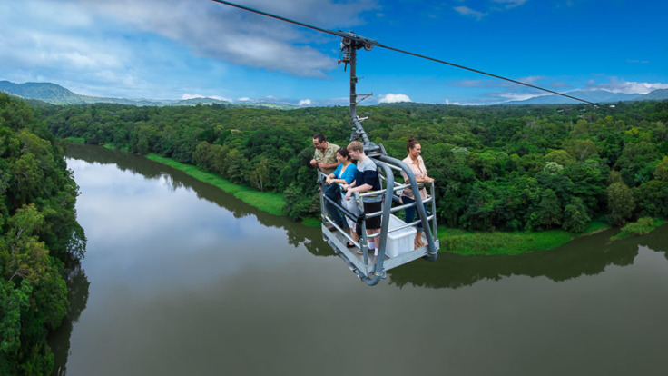 Views of the Barron River from the Skyrail Canopy Glider - Kuranda Tour