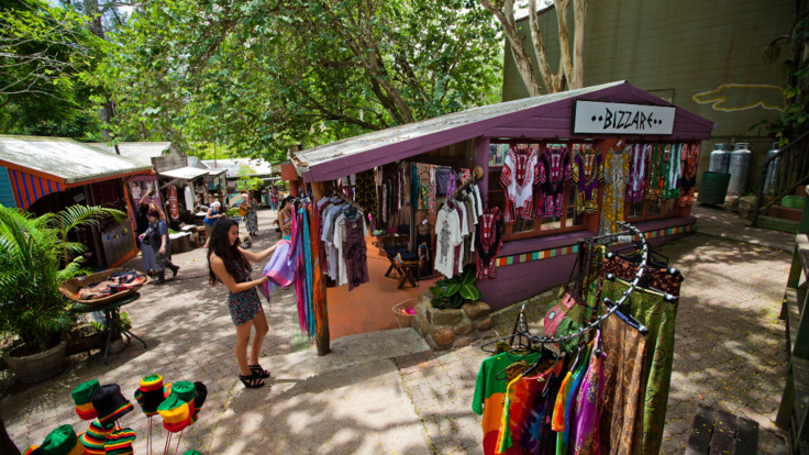 Lots of Shopping within Kuranda Village Markets