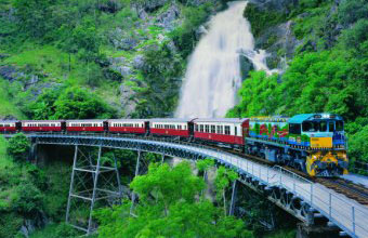See the amazing scenery aboard the Kuranda Scenic Rail