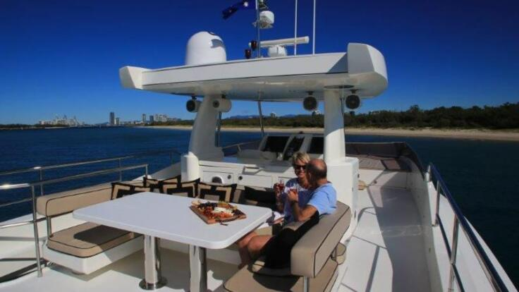 Whitsunday Superyacht Charters - Upper Sun Deck