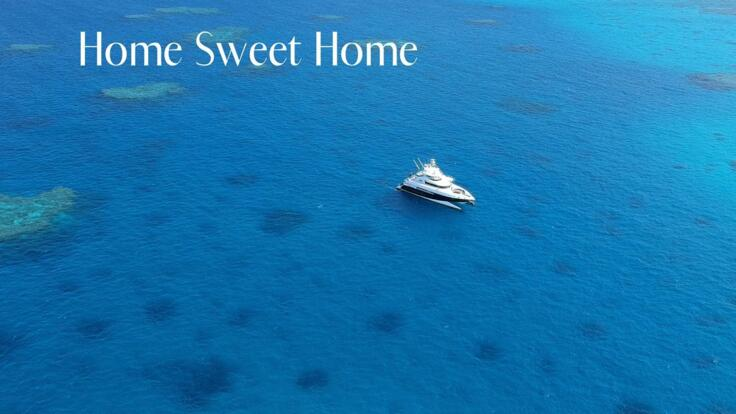 Superyacht Cruises Great Barrier Reef - Aerial View
