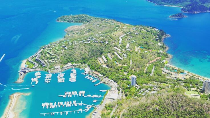 Hamilton Island Yacht Charter - Guests Arrive Here On Flights