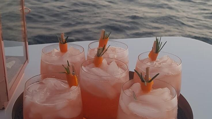 Superyachts  Australia - Sundowner Drinks Time