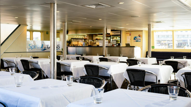 Inside seating | Cairns Dinner & Lunch Cruise