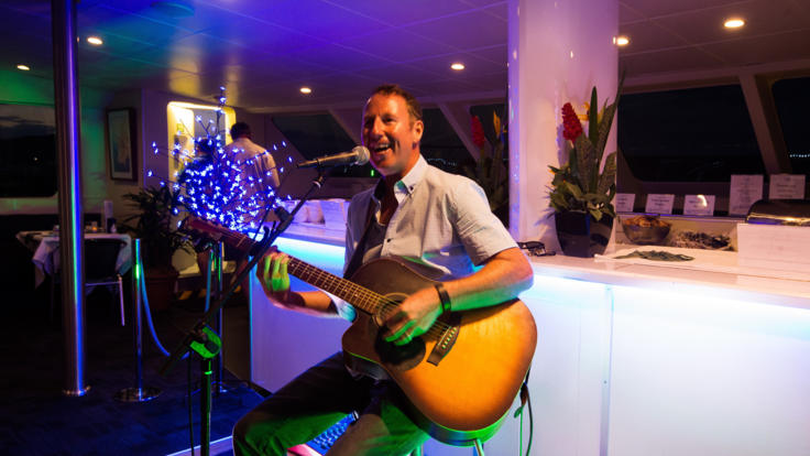 Live Music |Spirit of Cairns Dinner Cruise