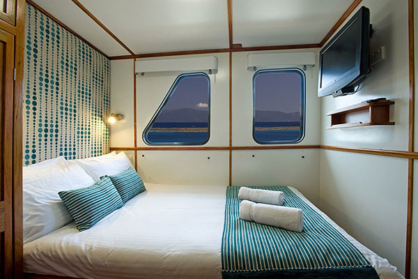 Double cabin on your Great Barrier Reef liveaboard dive tour