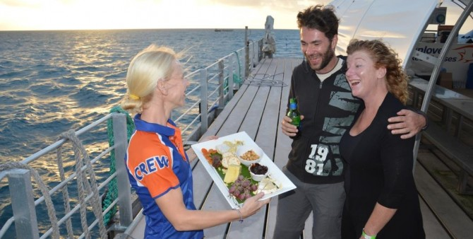 Delicious Food | Sleep on the Reef | Great Barrier Reef