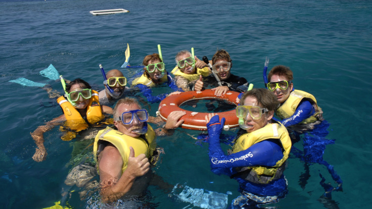 Guided Snorkel tours on the Great Barrier Reef