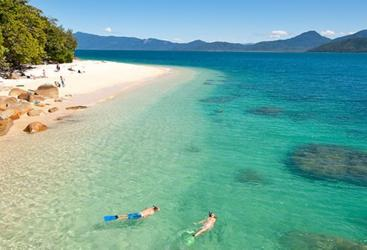 Enjoy an hour to explore Fitzroy Island