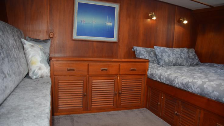 Forward Stateroom | Hamilton Island Private Charter Yacht