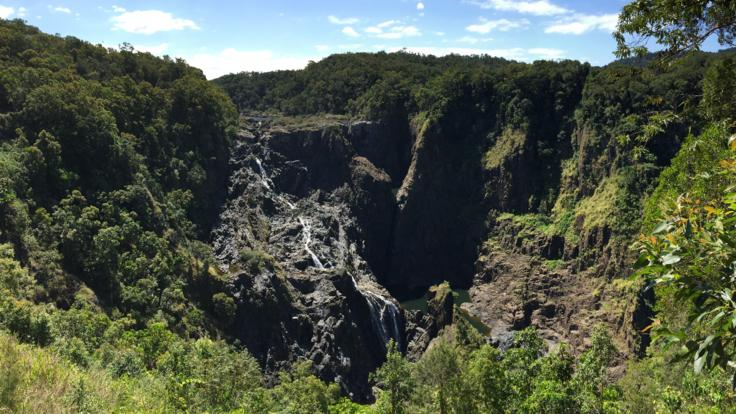 Barron Falls Lookout from the Tablelands