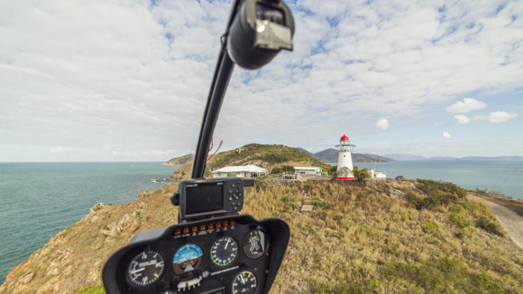 Townsville Helicopter Flight | Cape Cleveland Light House