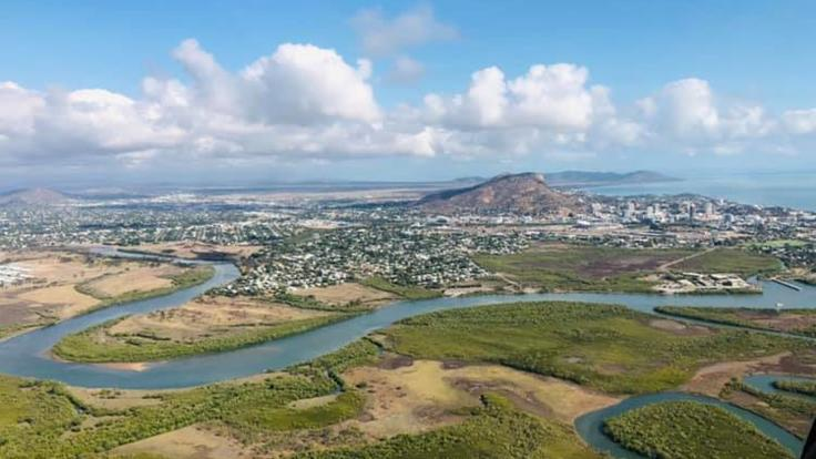 Aerial view of Townsville | Helicopter Scenic flight