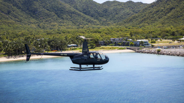 Barrier Reef Australia 30 minute helicopter flight - Townsville