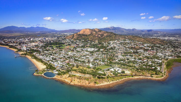 Townsville Helicopter Scenic Flight | Aerial view of Townsville