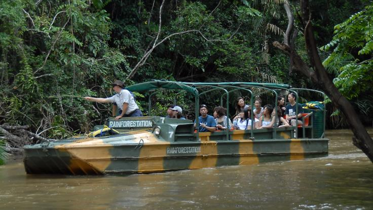 45 Minute Army Duck Tour Kuranda