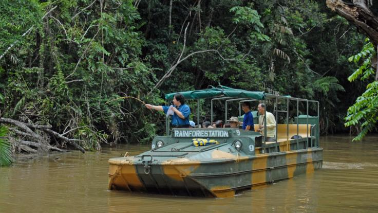 Army Duck Tour At Rainforestation Kuranda