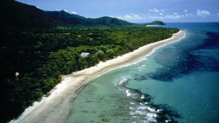 Enjoy the scenic coastal drive at Cape Tribulation