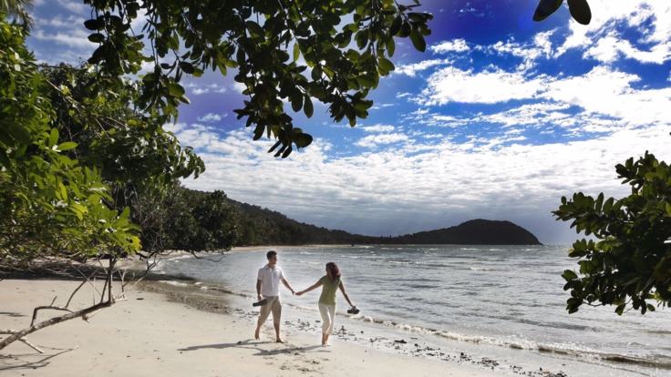 World famous Cape Tribulation Beach