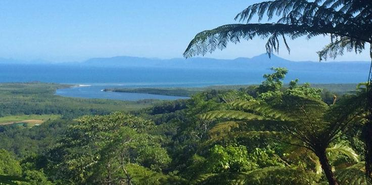 Alexander Scenic Lookout in the Daintree Rainforest