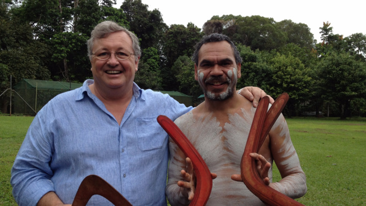 Learn how to throw a Boomerang with a local Aboriginal