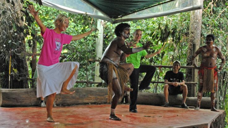 Kuranda Tours - Dance with Pamagirri Aboriginal Dancers