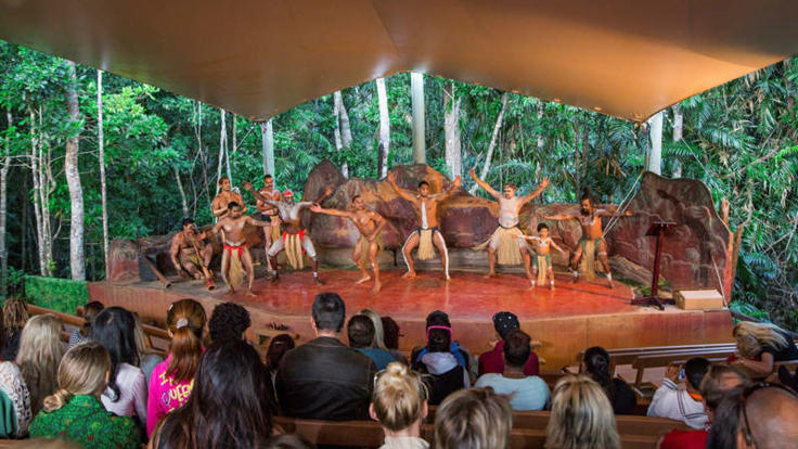 Pamagirri Aboriginal Performers at Rainforestation Nature Park in Kuranda