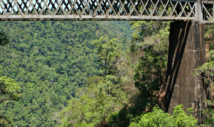 Kuranda Historic Scenic Rail - travel to Kuranda for your full day.