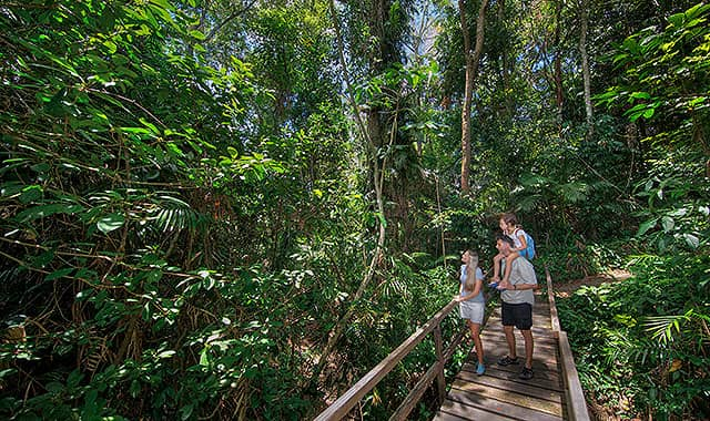 Kuranda village walkways