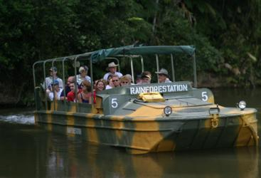 Kuranda Rainforestation Nature Park - Army Duck Tour