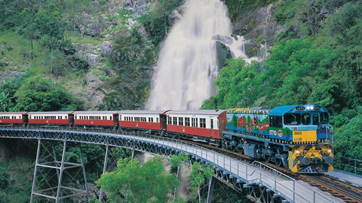 Stoney Creek Falls - Kuranda Train and Scenic Railway Tour