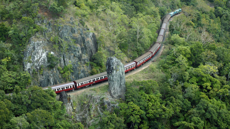 All aboard the Kuranda Scenic Train
