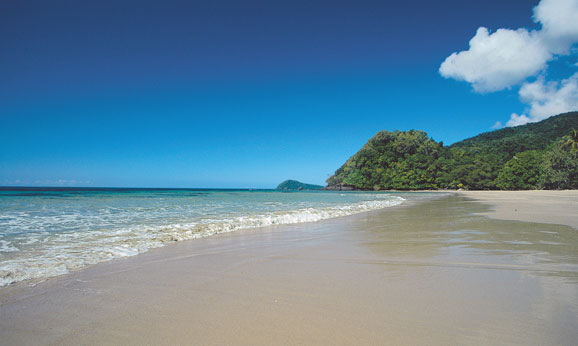 Walk along Cape Tribulation Beach