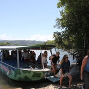 Disembarking the Daintree River Cruise