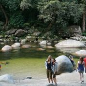 Have a refreshing swim at Mossman Gorge