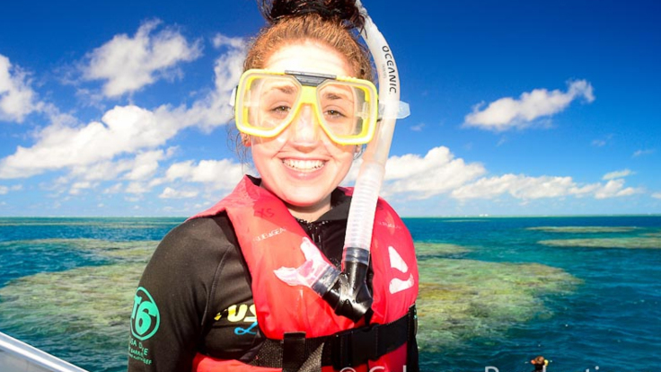 Safety Gear for  Snorkelling on the Great Barrier Reef in Cairns Australia