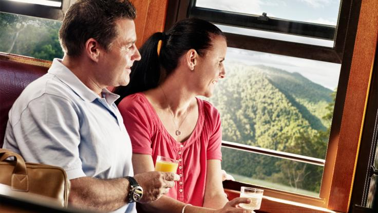 Kuranda Train - Gold class upgrade
