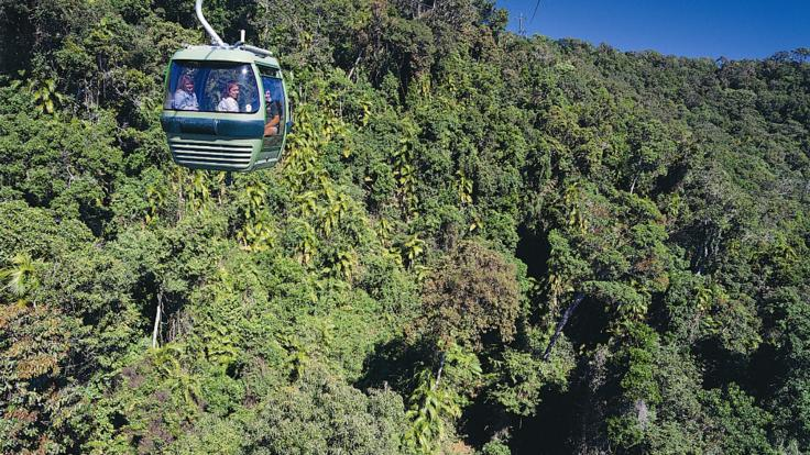 Skyrail Rainforest gondola views