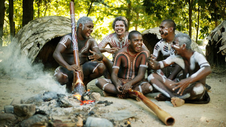 Tjapukai Aboriginal Cultural Tour in Cairns - meet the traditional people of the rainforest