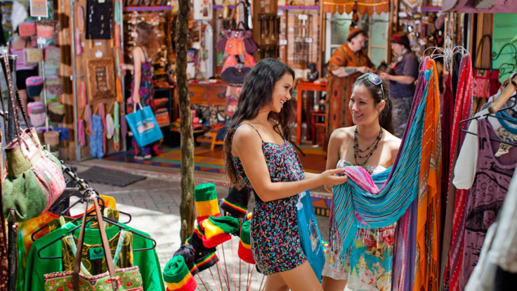 Kuranda Village - shop local arts, crafts and fashion.